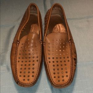 TODS Leather Chesnut Shoes
